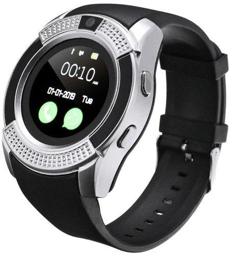 Умные часы Kaload V8, серебристый фото