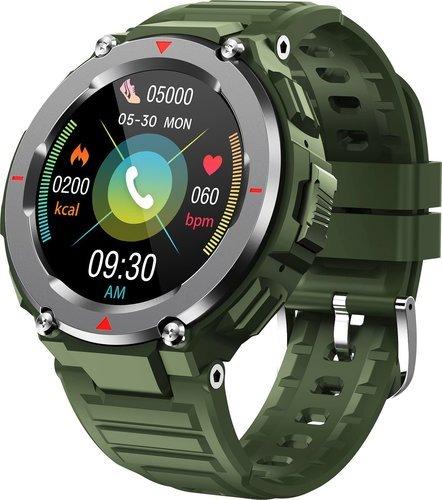 Умные часы Bakeey S25, зеленый фото