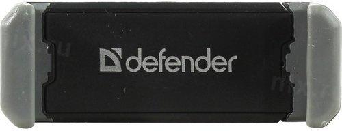 Автомобильный держатель универсальный для смартфона Defender CH-124, черный фото