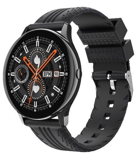 Умные часы Bakeey S8, силиконовый ремешок, черный фото