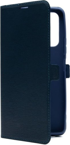 Чехол-книжка для Xiaomi Redmi Note 10 Pro синий, Book Case, Borasco фото