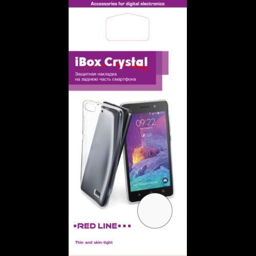 Чехол для смартфона Xiaomi Redmi 4 Pro Silicone iBox Crystal (прозрачный), Redline фото