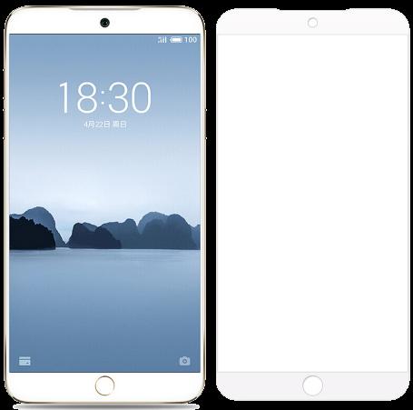 Защитное стекло для Meizu 15 Lite Full Screen Glass белый, TFN фото