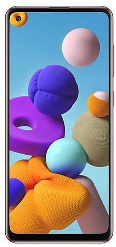 Смартфон Samsung (A217F) Galaxy A21s 3/32Gb Красный фото