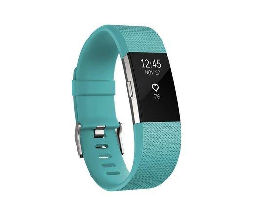 Умный браслет Fitbit Charge 2, бирюзовый (L) фото
