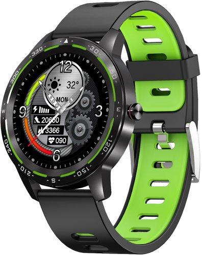 Умные часы Bakeey H86, зеленый фото