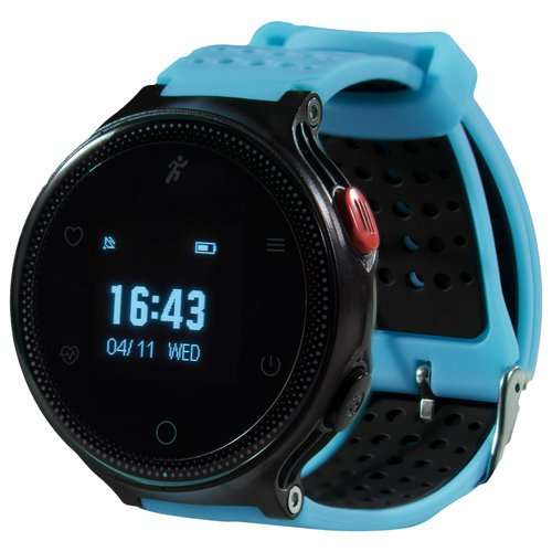 Умные часы Prolike с измерением давления PLSW1000BL, голубые фото