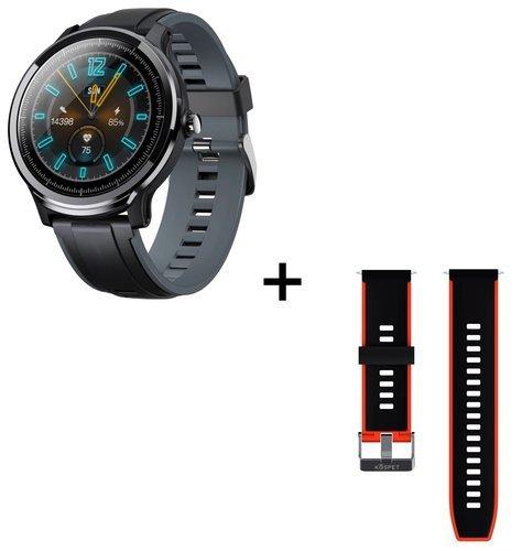 Умные часы Kospet Probe, водонепроницаемые, красный/серый фото