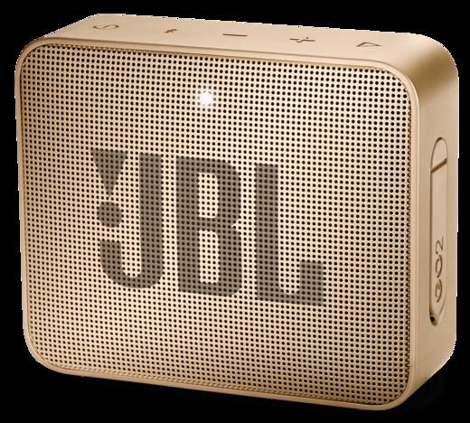 Колонка JBL GO 2, золотистый фото