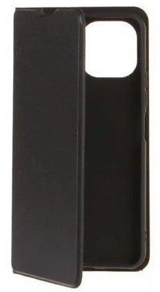 Чехол-книжка для Xiaomi Mi11 Lite (черный), Redline, с застежкой на магнитах, Redline фото
