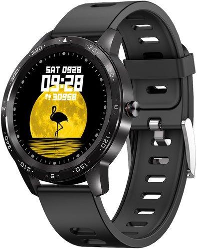 Умные часы Bakeey H86, черный фото