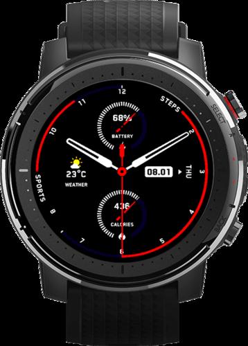 Умные часы Xiaomi Amazfit Stratos 3, черные фото
