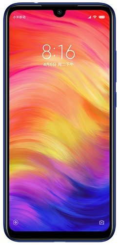 Смартфон Xiaomi Redmi Note 7 3/32GB Blue (Синий) Global Version фото
