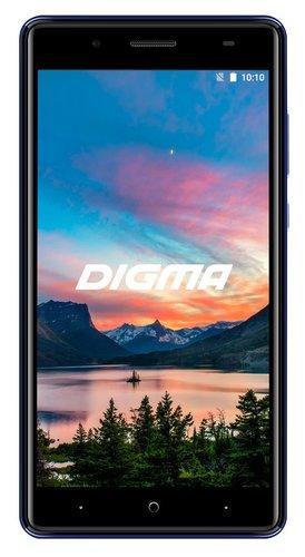 Смартфон Digma Q500 3G HIT 8Gb 1Gb Синий фото