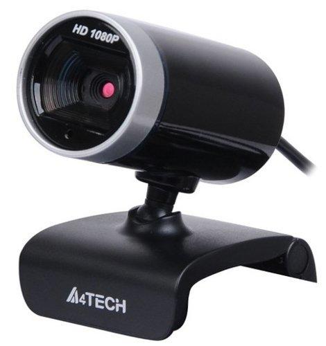 Веб камера A4Tech PK-910H черный 2Mpix (1920x1080) USB2.0 с микрофоном фото