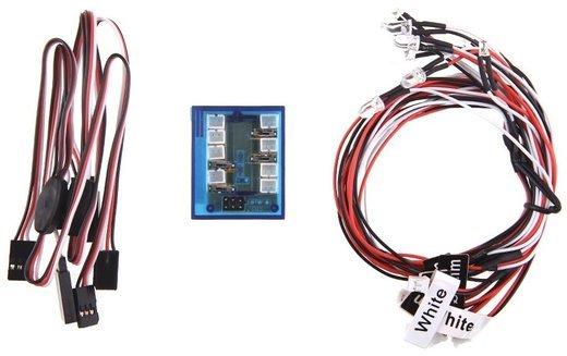 Комплект LED освещения GoolRC для радиоуправляемой машинки фото