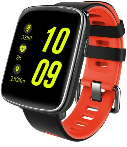 Умные часы KingWear GV68, черно-красные фото