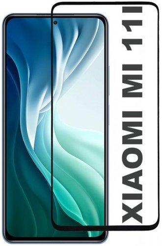 Защитное стекло для Xiaomi Mi11i (3D) Full Screen + Full Glue черный, Redline фото