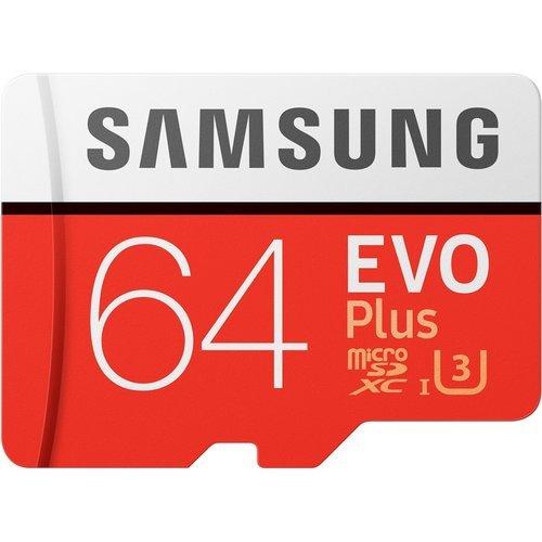 Карта памяти Samsung microSDXC Evo Plus Class 10 UHS-I U1 (100/20MB/s) 64GB + ADP фото