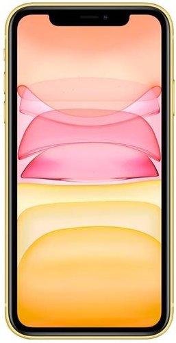 Смартфон Apple iPhone 11 128GB Желтый (MWM42RU/A) фото