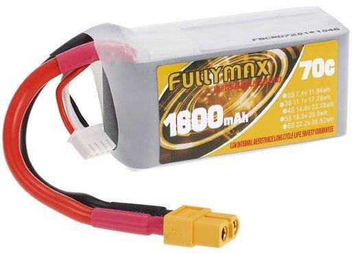 Аккумулятор Fullymax 3S 11.1V, Lipo 1600 мАч фото