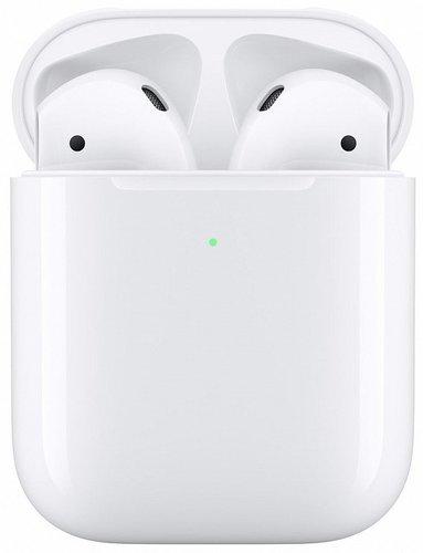 Наушники Apple AirPods 2 (беспроводная зарядка чехла) MRXJ2 фото