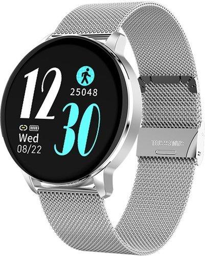 Умные часы Bakeey R5, стальной ремешок, серебристый фото