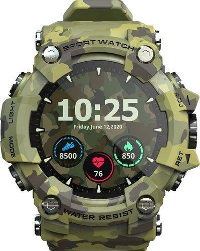 Умные часы Lokmat Attack, зеленый фото
