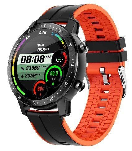 Умные часы Senbono S30, оранжевый фото
