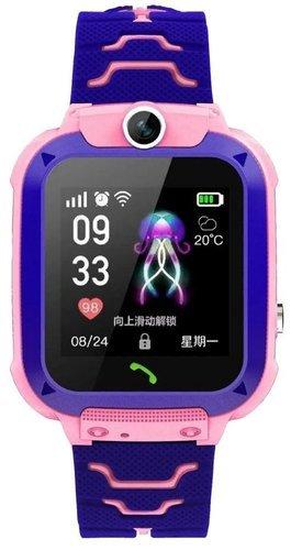 Детские умные часы Bakeey Q12, розовый фото