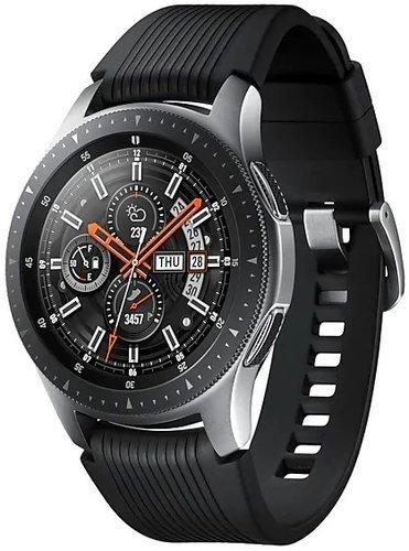 Умные часы Samsung Galaxy Watch 46мм, серебристые фото