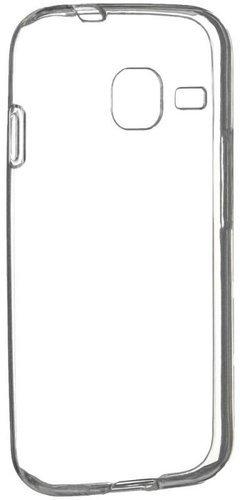 Чехол для смартфона Samsung Galaxy J1 mini (J105) Silicone (прозрачный), Aksberry фото