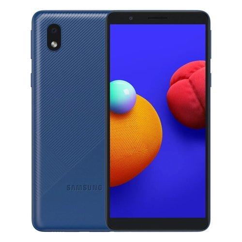 Смартфон Samsung (A013F) Galaxy A01 Core Синий фото