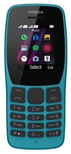Мобильный телефон Nokia 110 Dual Sim (2019) Синий фото