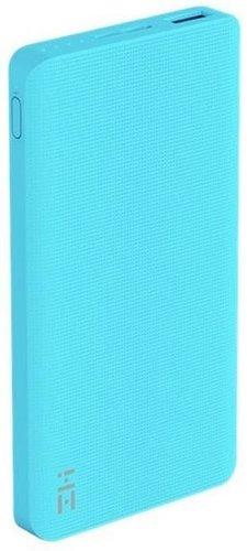 Внешний аккумулятор Xiaomi Mi Power Bank ZMI 10000 mah QB810 голубой фото