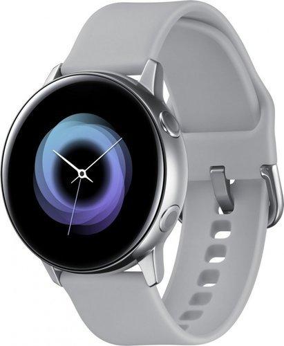Умные часы Samsung Galaxy Watch Active 42мм, серебристые фото
