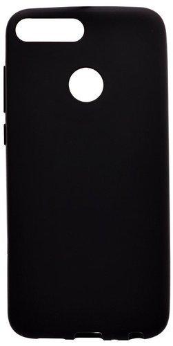 Чехол для смартфона Xiaomi Mi8 Lite силиконовый (матовый черный), BoraSCO фото
