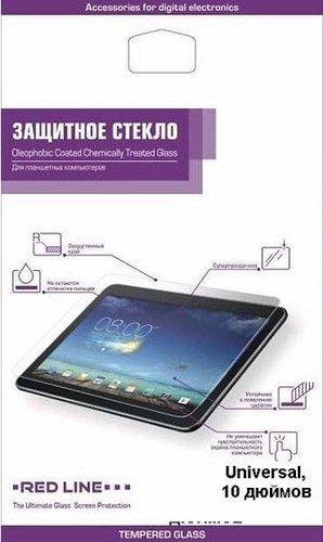 """Защитное стекло для планшета универсальное 10.0"""", Redline фото"""