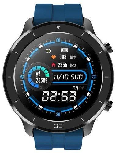 Умные часы Bakeey M18, синий фото