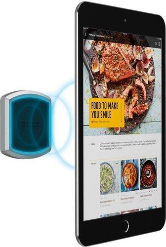 Универсальный магнитный держатель Mage Flat XL для смартфонов и планшетов, 3М крепление, черный, Deppa фото