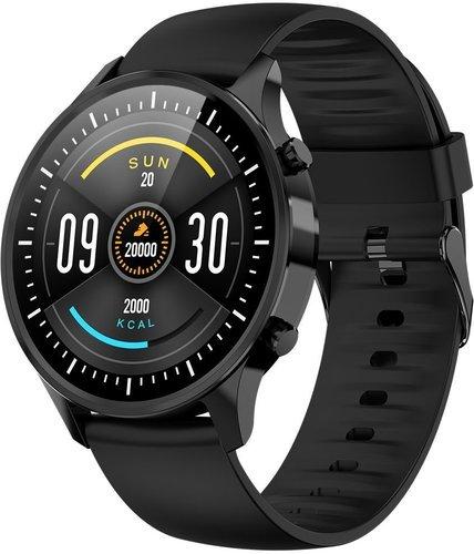 Умные часы Bakeey G21, силиконовый ремешок, черный фото