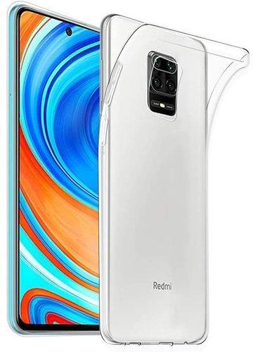 Чехол для смартфона Xiaomi Redmi Note 9 Silicone iBox Crystal (прозрачный), Redline фото