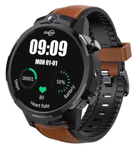 Умные часы AllCall Awatch GT2 3/32Gb, коричневый фото