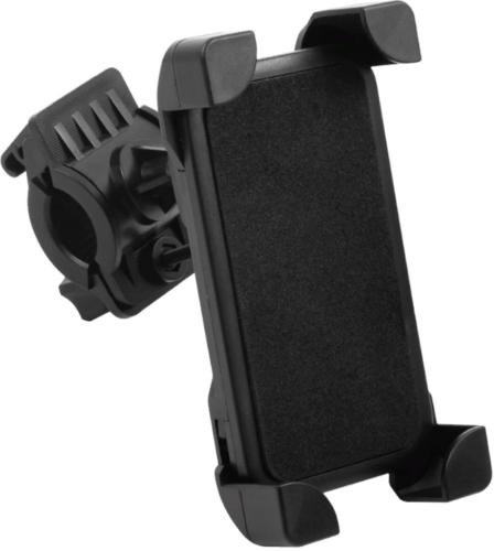 Универсальный держатель для смартфона на руль велосипеда, модель HOL-13, черный, Redline фото
