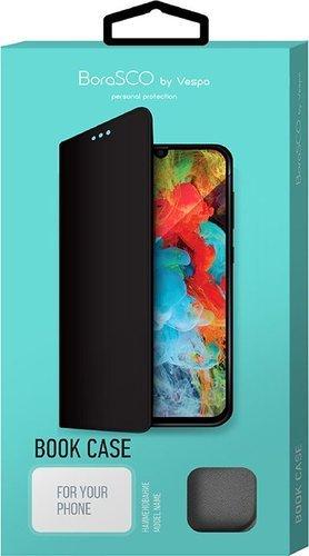 Чехол-книжка для Xiaomi Redmi 9 черный, Book Case, Borasco фото