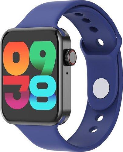 """Умные часы Bakeey Migo 1.54"""", синий фото"""