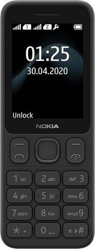 Мобильный телефон Nokia 125 Dual Sim Черный фото