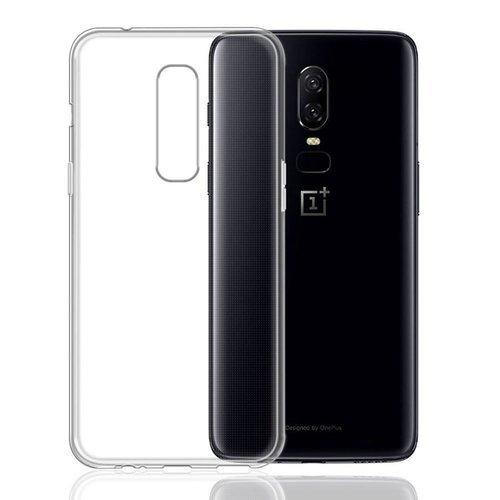 Чехол для смартфона OnePlus 6 Silicone iBox Crystal (прозрачный), Redline фото
