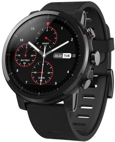 Умные часы Xiaomi Amazfit Stratos, черные фото