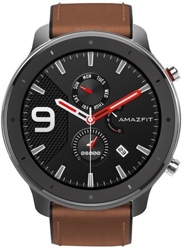 Умные часы Xiaomi Amazfit GTR 47мм, алюминий фото